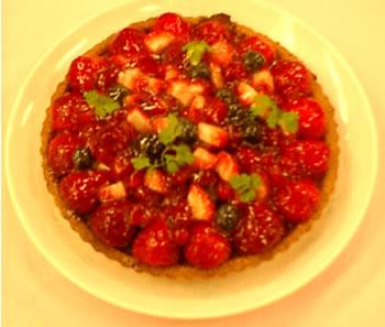 前田さんの手作りケーキ