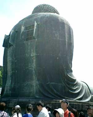 100502 鎌倉の大仏を正面左から
