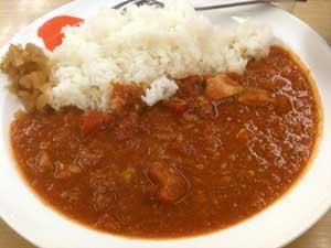 100519 フレッシュトマトカレー(松屋)