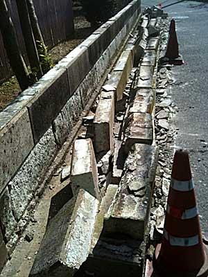 110312 崩れた壁