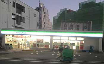 ファミリーマート西大井光学通り店